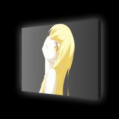 Картина с подсветкой - персонаж Ошино Шинобу из аниме Monogatari