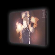 Картина с подсветкой - аниме Тетрадь смерти - L