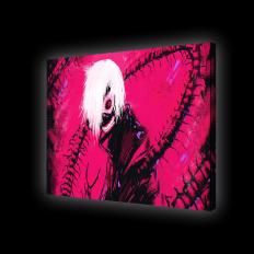Картина с подсветкой - Аниме Токийский Гуль - Канеки