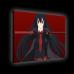 Картина с подсветкой - персонаж Акаме из аниме Убийца Акамэ