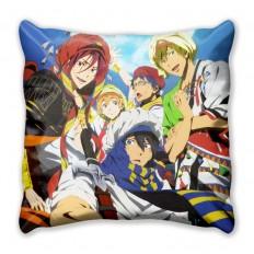 Подушка с главными героями аниме - Вольный стиль!