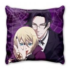 Подушка Темный дворецкий Клод и Алоис