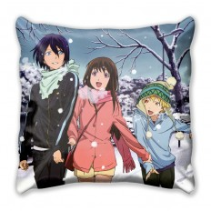 Подушка с персонажами из аниме Бездомный Бог Ято, Юкинэ и Хиёри