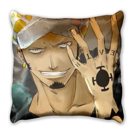 Подушка с персонажами Ван Пис Трафальгар Ло